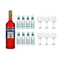 Campari Amalfi Ensemble à Cocktail