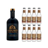 Jaisalmer Indian Craft Gin 70cl mit 8x Doctor Polidori's Dry Tonic Water