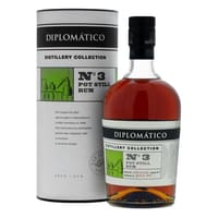 Diplomatico Distillery Collection No3 Pot Still Rhum 70cl