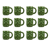 Libbey Tiki Mug Green 47cl, 12er-Set