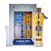 St. Germain Elderflower Liqueur 70cl Spritz Pack mit Glas