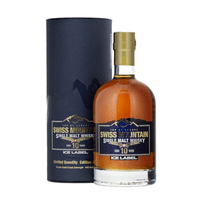 Swiss Mountain Single Malt Whisky Ice Label Edition 2020 50cl