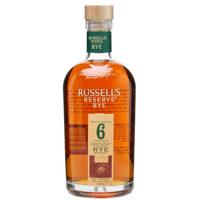 Wild Turkey Russell's Reserve 6 Years Rye Whiskey 75cl