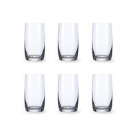 Bohemia Crystal Glass Ideal High Ball Glas 38cl, 6er-Set