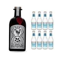 Draft Brother's Original Gin 50cl mit 8x Fever-Tree Mediterranean Tonic Water