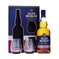 Glen Moray Sherry Cask Single Malt Whisky 70cl Set mit Gläser