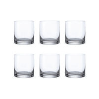 Bohemia Crystal Glass Barline D.O.F. Whiskyglas 41cl, 6er-Set