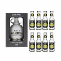 Mombasa Club Colonel's Reserve Gin 70cl mit 8x Fentimans Tonic Water