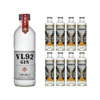 VL92 Gin 50cl mit 8x 1724 Tonic Water