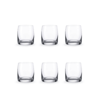 Bohemia Crystal Glass Ideal O.F. Whiskyglas 23cl, 6er-Set