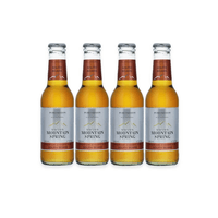 Swiss Mountain Spring South Beans Ginger Ale, Pack de 4