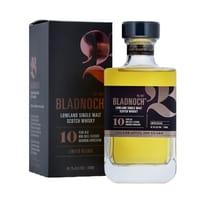 Bladnoch Bourbon Cask 10 Years Single Malt Whisky 70cl