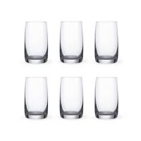 Bohemia Crystal Glass Ideal Wasserglas 25cl, 6er-Set