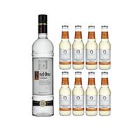 Ketel One Vodka 70cl mit 8x Swiss Mountain Spring Ginger Beer
