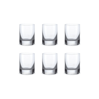 Bohemia Crystal Glass Barline Shotglas 6cl, 6er-Set