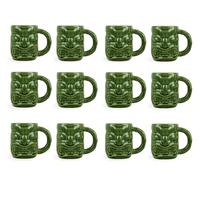 Libbey Tiki Mug Green 47cl, 12er-Set