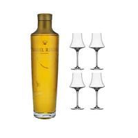 Ysabel Regina mit 4 Spiegelau Cognac Gläser