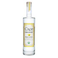 Crop Meyer Lemon Organic Vodka 75cl