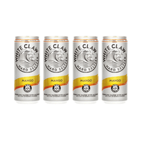 White Claw Mango Hard Seltzer 33cl, Pack de 4