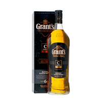 Grant's 6 Years Elementary Carbon Whisky 100cl