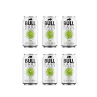 BULL Hard Seltzer Lime 33cl, Pack de 6