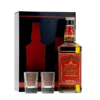 Jack Daniel's Fire Whiskey 70cl Set mit 2 Shotgläser
