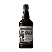 Captain Morgan Black Spiced 70cl (Spirituose auf Rum-Basis)