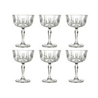 RCR Style Opera Champagnerglas, 6er-Pack