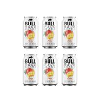 BULL Hard Seltzer Mango 33cl, Pack de 6