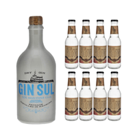 Gin Sul 50cl mit 8x Doctor Polidori's Dry Tonic Water