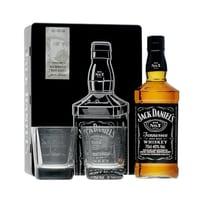 Jack Daniel's Old No.7 Whiskey 70cl Set mit 2 Gläser (Version 2019)