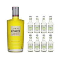 Ungava Canadian Premium Gin 70cl mit 8x Fentiman's Wild English Elderflower