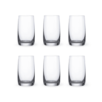 Bohemia Crystal Glass Ideal Wasserglas 25cl, 6er-Set