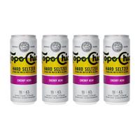 Topo Chico Cherry Acai Hard Seltzer 33cl, 4er-Pack