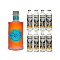 Malfy Gin con Arancia 70cl mit 8x 1724 Tonic Water