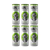 Luke's Hard Seltzer Lemon&Lime 33cl, Pack de 6