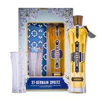 St. Germain Elderflower Liqueur 70cl Spritz Pack mit Glas