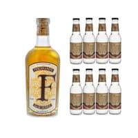 Ferdinand's Saar Quince Gin 50cl mit 8x Doctor Polidori's Dry Tonic Water