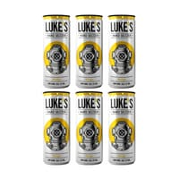 Luke's Hard Seltzer Mango 33cl, Pack de 6