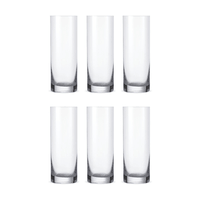 Bohemia Crystal Glass Barline Wasserglas 30cl, 6er-Set