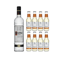 Ketel One Vodka 70cl avec 8x Swiss Mountain Spring Ginger Beer
