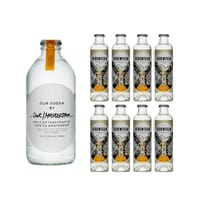 Our Vodka / Amsterdam 35cl mit 8x 1724 Tonic Water