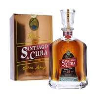 Santiago de Cuba Extra Añejo 25 Years Rum 70cl
