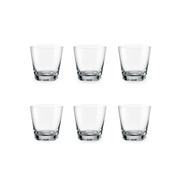 Bohemia Crystal Glass Jive D.O.F. Whiskyglas 54cl, 6er-Set