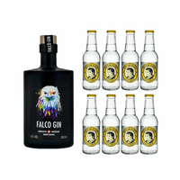 Falco Gin 50cl mit 8x Thomas Henry Tonic Water
