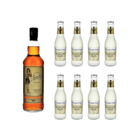 Sailor Jerry Spiced 70cl mit 8x Fever Tree Ginger Beer