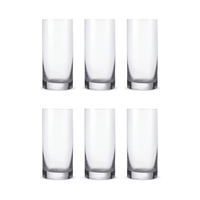 Bohemia Crystal Glass Barline Wasserglas 23cl, 6er-Set