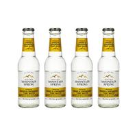 Swiss Mountain Spring Tonic Water Ginger & Lemongrass 20cl 4er Pack