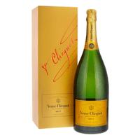 Veuve Clicquot Brut Yellow Label avec emballage 150cl