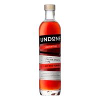 UNDONE No.9 Red Aperitif Type sans alcool (pas du vermouth rouge) 70cl